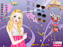 Summer Star Dressup game