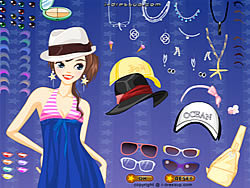 Hat Queen Dressup game
