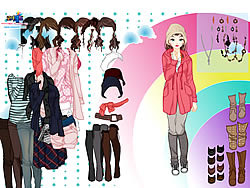 Sweater Dressup game