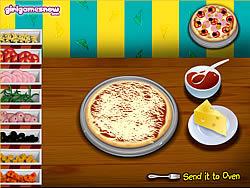 Italian Pizza Match