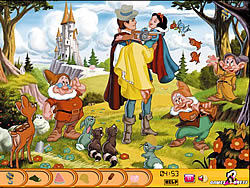 Jouer au jeu gratuit Hidden Objects - Snow White