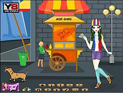 Hotdog Gal Dress Up game