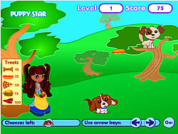 Puppy Star - Puppy Treat Game