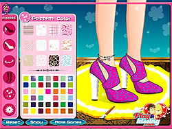 Juega al juego gratis Fashion High Heel