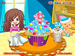 Colorful Cupcake game