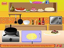 Chorizo Breakfast Burrito game