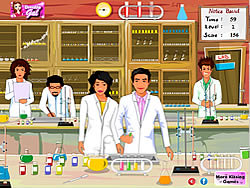Chemistry Lab Kissing game