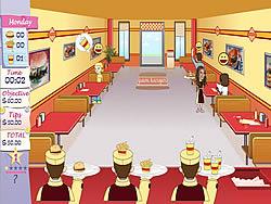 Juega al juego gratis Unfabulous Burger Bustle