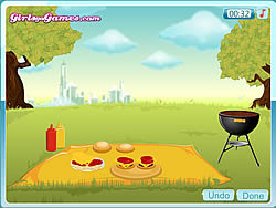 Emma's Recipes Hamburger game