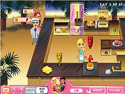 Jennifer Rose: Snack Bar game