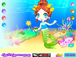Juega al juego gratis Little Mermaid Princess