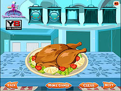 Turkey Roast Decoration game