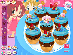 Kawaii Cupcakes game