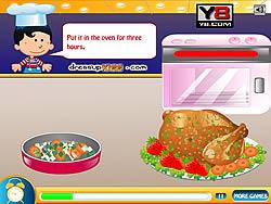 Thanksgiving Turkey Cooking game