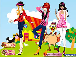 Posy Teens-Celebrate Thanksgiving Day game