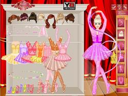 Juega al juego gratis Miss Ballerina Dress Up