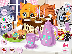 Gioca gratuitamente a Kitty Tea Party