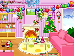 Game New Year Room Decor