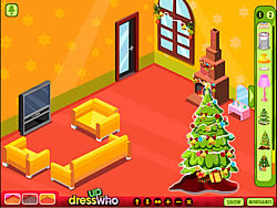 Winter Lodge Deco game