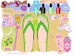 Stylin Stuff: Pedicure game