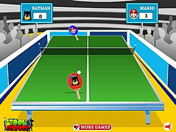 Toon Table Tennis game
