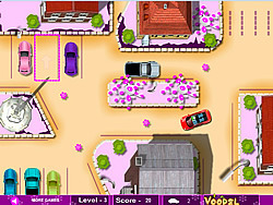 Juega al juego gratis Cute Girl Parking