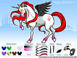 Gioca gratuitamente a Mane Attraction Pony Dress up