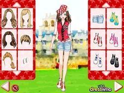 Varsity Jacket Dress Up game