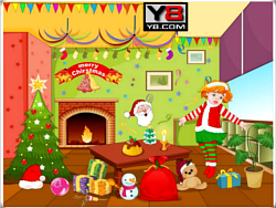 Christmas Hall Decor 2012 game