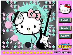 Hello Kitty Hidden Stars game