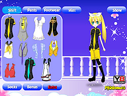 Game Dress Up Anime Girl