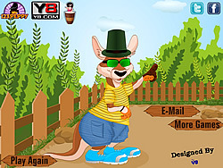 Cute Kangaroo Dressup game