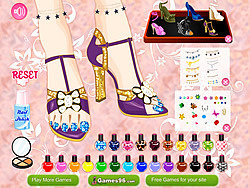 Stylish Pedicure 2 game