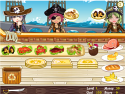 Pirate Seafood Restaurant game