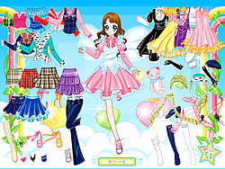 Air Fairy Dress up