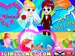 Romantic Dolphin Bay Wedding game