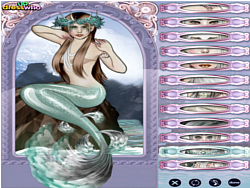 Mermaid Mix And Match game