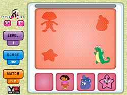 Dora and Friends Shadow game