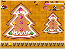 Gingerbread Cookies Match game