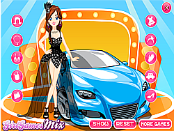 Auto Show Girl game