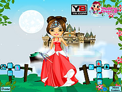 Castle Wedding Dressup game