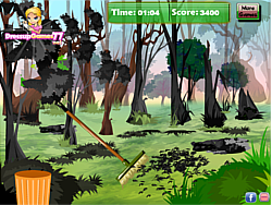 Bush Fire Field Cleanup game