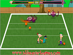 Gioca gratuitamente a Phineas and Ferb Alien Ball
