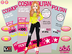 Cover Girl Dressup игра