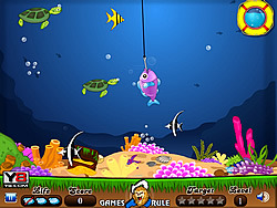 Underwater Fishing game