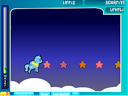 Juega al juego gratis Little Pony Adventure