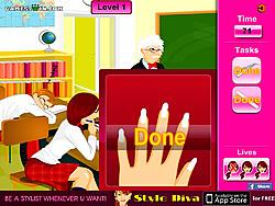 Classroom Makeup game