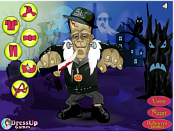 Dress up Frankenstein game