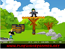 Johnny Bravo Military Adventure game