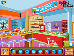 Kids shopping hidden game game